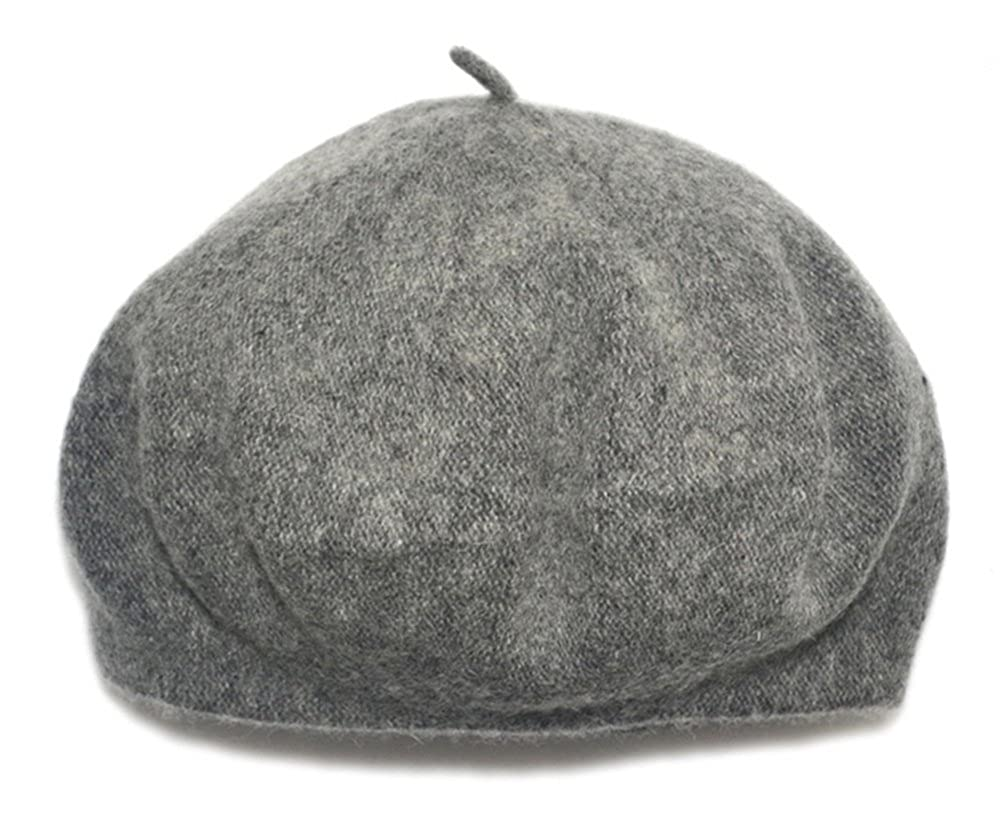 8552fe42ca6 Children Wool French Beret Girl s Artist Hat (Grey)  Amazon.co.uk  Clothing
