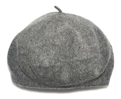 14fee901769 Children Wool French Beret Girl s Artist Hat (Grey)  Amazon.co.uk  Clothing