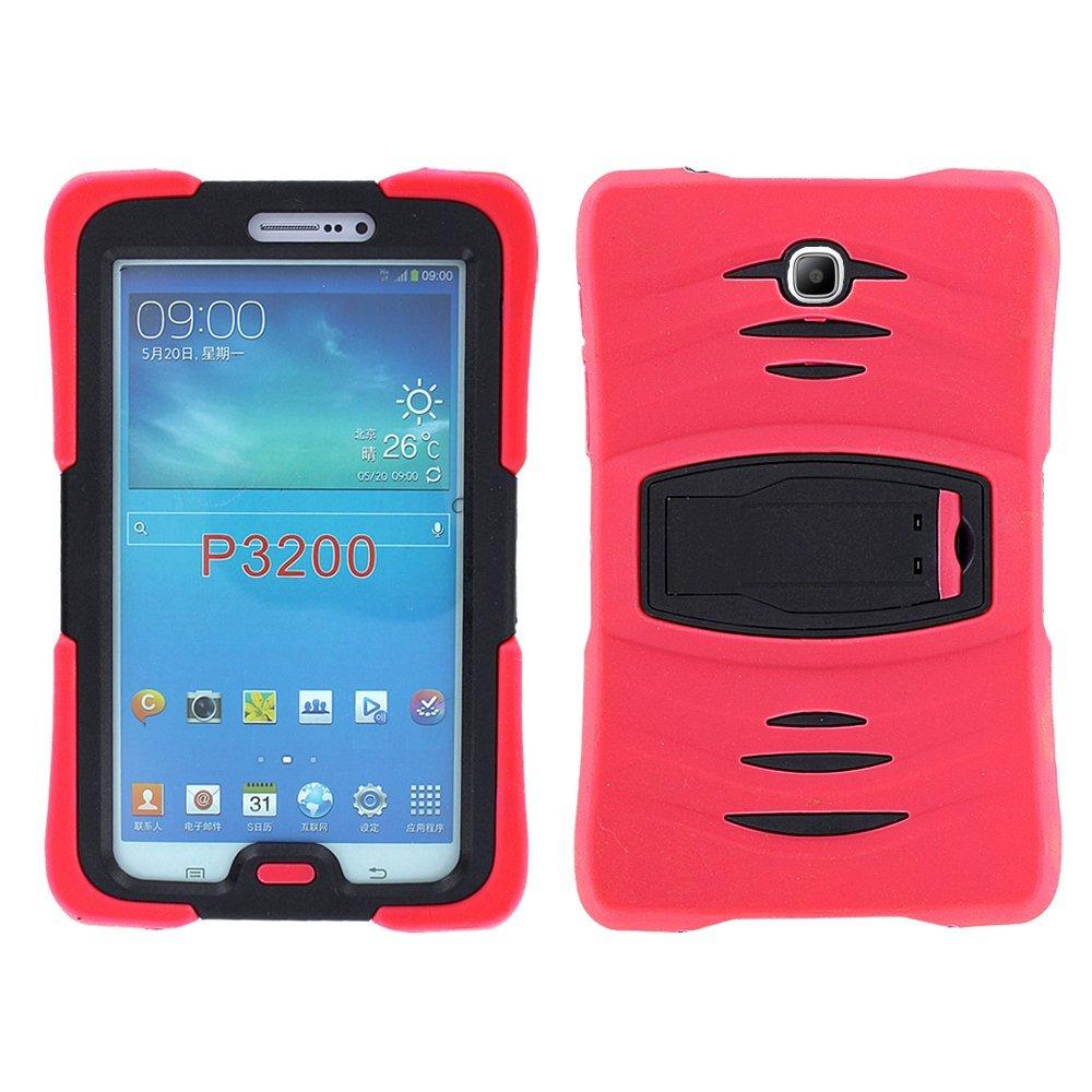 Funda para Galaxy Tab 3 7 (2013) P3200 T210 T217 roja