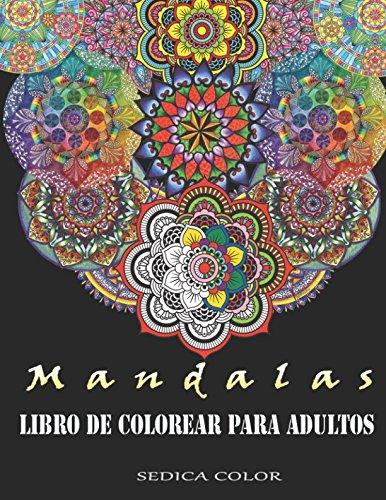 Libro : Mandalas Para Colorear Adultos: Libro De Colorear...