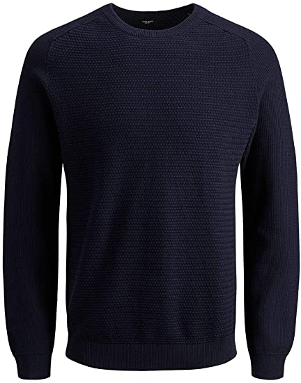 Jack & Jones Jprpost Knit Crew Neck suéter para Hombre