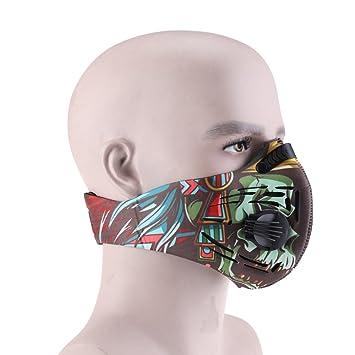 Polvo Máscara, vdealen carbón activado máscara de polvo Máscara Máscara de fitness alergia gripe máscara
