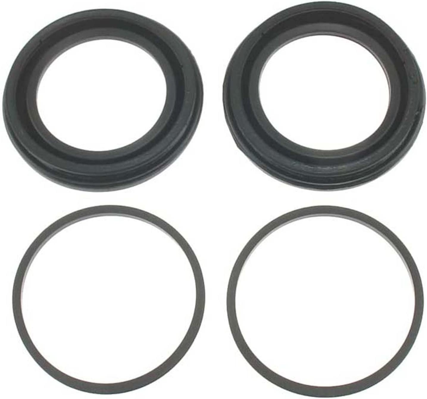 ACDelco 18H100 Professional Front Disc Brake Caliper Boot and Seal Kit with Boots and Seals