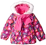 #1: London Fog Girls' Winter Coat with Scarf and Hat