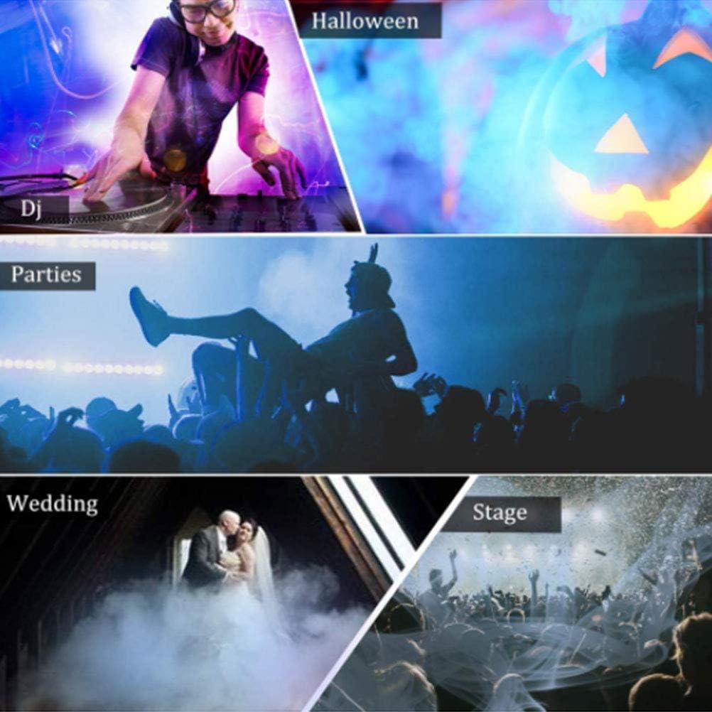 Bonbela Machine de Halloween Machine /à Brouillard de fum/ée T/él/écommande sans Fil pour Les Parties Vacances Mariages Pulv/érisateur