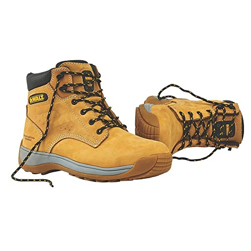 497c4e03cce DEWALT BOLSTER SAFETY BOOTS HONEY SIZE 10.: Amazon.co.uk: Shoes & Bags