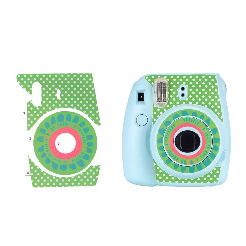 con Estuche Mini 9 Paquete de Accesorios para c/ámara Bsuuy Instax Mini 9 para FujiFilm Instax Mini 9 8 8 12 en 1 Grulla /álbum//Lente Selfie//filtros//Pegatina de Camara