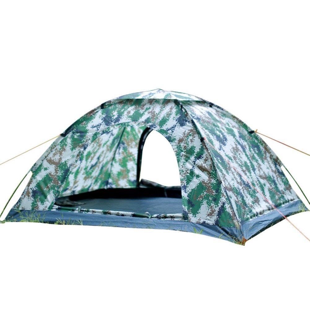 Zelt Für 2 Personen, Campingzelt Leichtes Zelt Für Camping Outdoor Zelten Camouflage Manuelle Zelt 2 Personen Camping Mit Tragebag Camping-ausrüstung-fiberglas