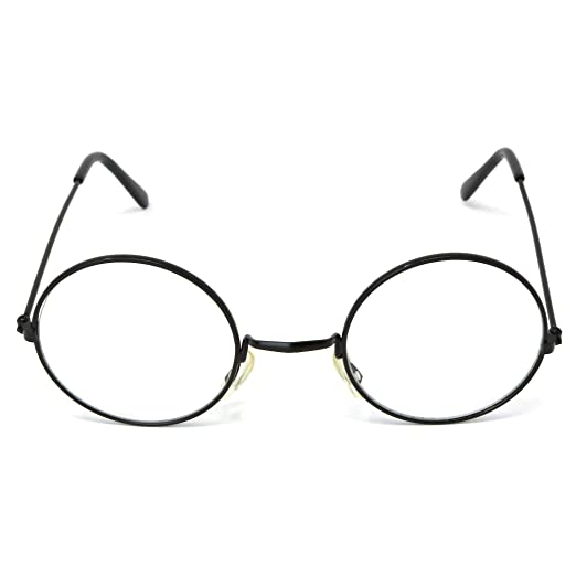 e7e575a2b18 Image Unavailable. Image not available for. Color  Skeleteen Round Wizard  Costume Glasses ...