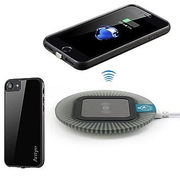 Wireless Cargador iPhone 7 (4.7 pulgadas), antye® Qi ...