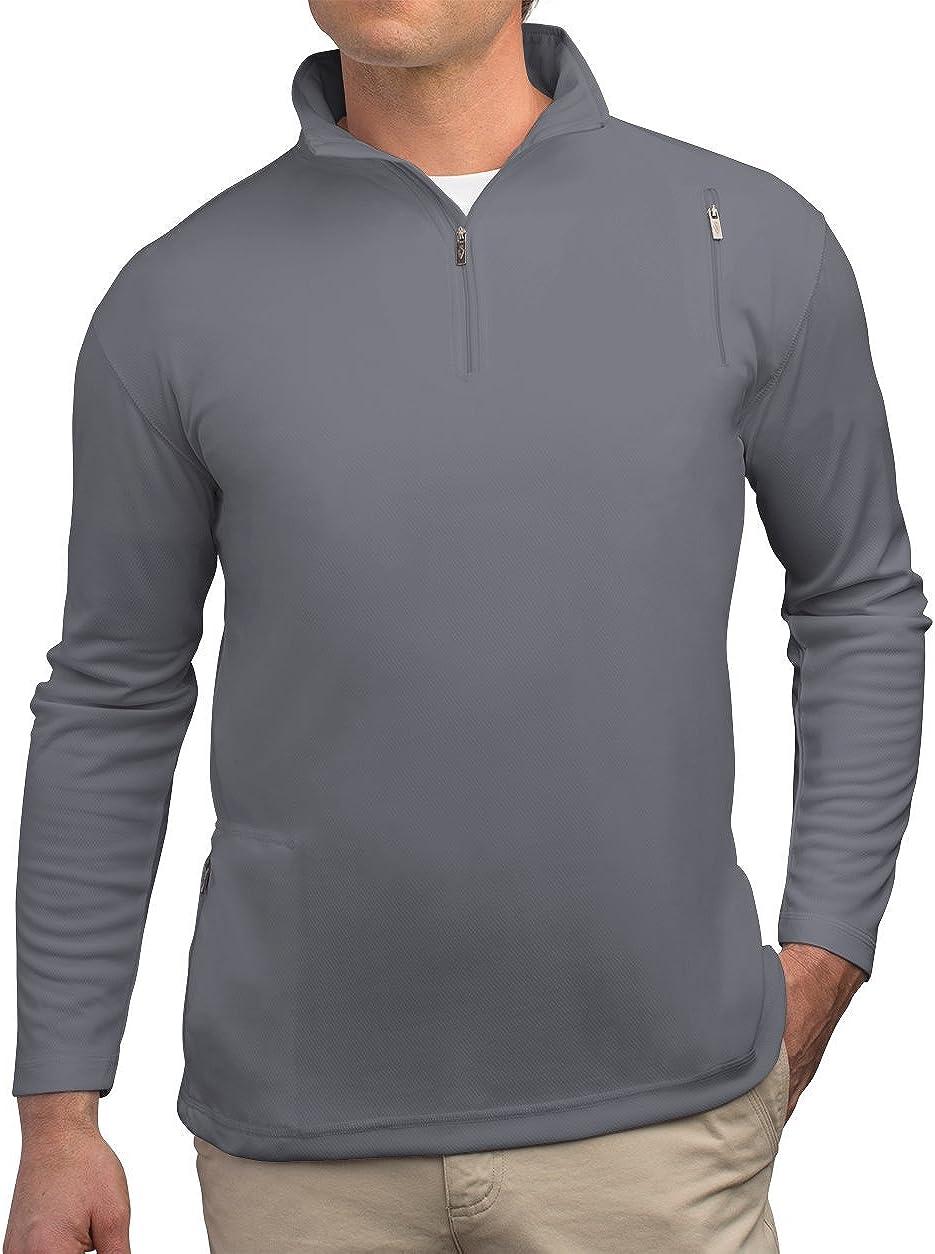 SCOTTeVEST Men's Qzip - 3 Pockets - Travel Clothing, Pickpocket Proof