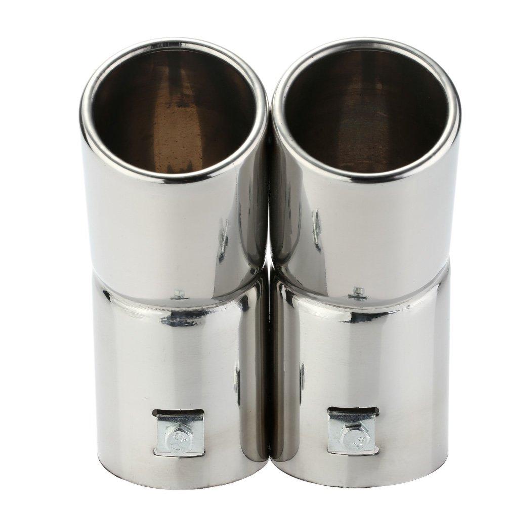 KKmoon MBZ1073450773324WK Steel Muffler Tail Pipe