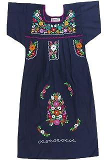 Amazoncom Mexican Clothing Co Vestido Mexicano Para Niña