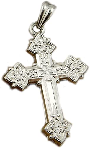 Sterling Silver Cross Pendant 925