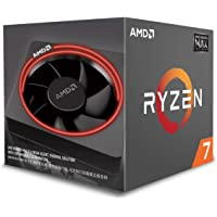 AMD Ryzen 7 2700 Processor with Wraith Max RGB LED Cooler - YD2700BBAFMAX, Black
