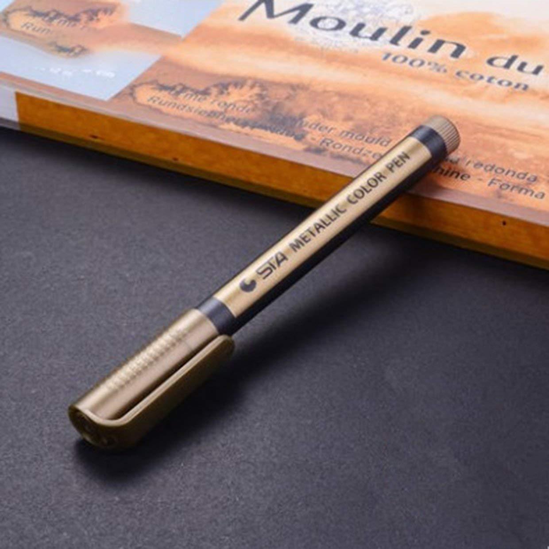 Bolígrafo de pintura brillante para marcadores metálicos ...