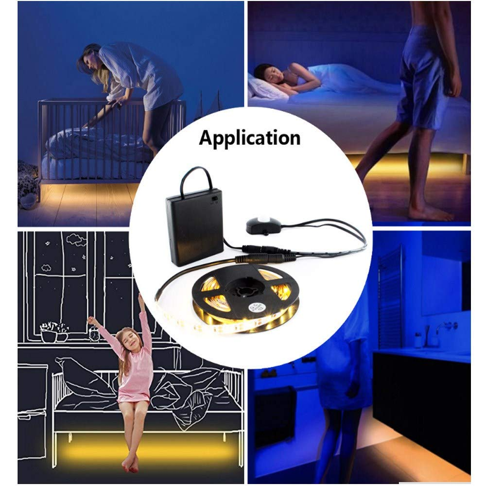 RGBZONE DC 5V-24V Mini 4A PIR Infrared Motion Sensor Detector Switch for LED Strip Female Male DC Power Connector