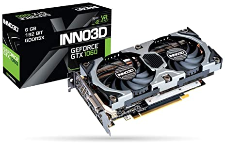 INNO3D GTX 1060 Gaming OC 6Gb: Amazon.es: Informática