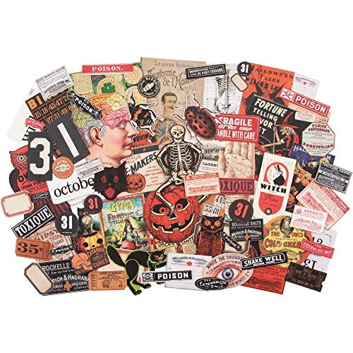 Halloween Times 2019 (Tim Holtz 2019 Halloween Idea-Ology, Halloween)