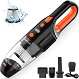 Portable Handheld Vacuum Cordless, ZesGood 7000PA Powerful Suction Rechargeable Hand Held Vacuum Cordless Cleaner with…