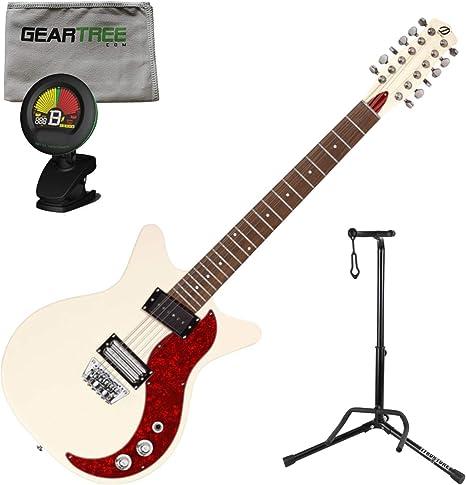 Danelectro D59X12 - Guitarra eléctrica (59 x 12 cuerdas, con paño ...
