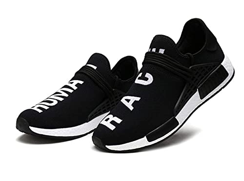 Amazon.com | BMTH Mens Womens Unisex Lightweight Fashion Sneakers Breathable Lace-up Athletic Sports Shoes Human Race Casual Running Shoes | Trail Running