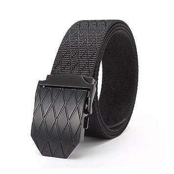 ZheTianmios Cinturón de Nylon Militar táctico del ejército Masculino del  ejército Militar de la Hebilla del diseñador Estilo Casual Cinturón de los  Vaqueros ... 6e9ca86f7bee
