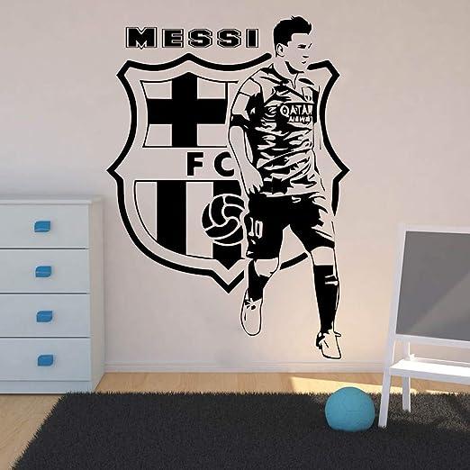 EdmendYang Leo Messi Jugadores de fútbol Etiqueta de la Pared ...