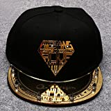 Onecos Bigbang Logo Golden Fashion Baseball Cap Sun Hat Hip-hop Hat Cosplay