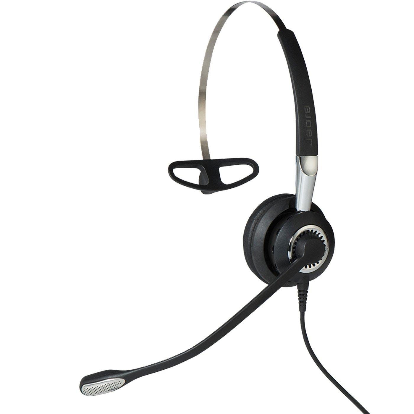 Jabra 2400 II QD Mono UNC 3-in-1 Wired Headset - Black by Jabra