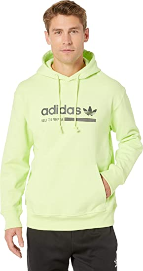 Dirección volverse loco Por lo tanto  adidas Originals Kaval Graphic Hoodie Semi Frozen Yellow SM at Amazon Men's  Clothing store