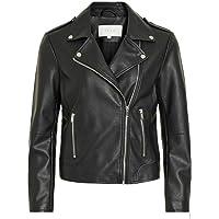 Vila Vicara Faux Leather Jacket-Noos Chaqueta para Mujer