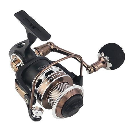 Batalla II Spinning Carrete de Pesca de Metal Completo Carrete, Frenos de Tela de Carbono, Pesca Tackle Pesca, prevención de Agua de mar,RX9000: Amazon.es: Hogar