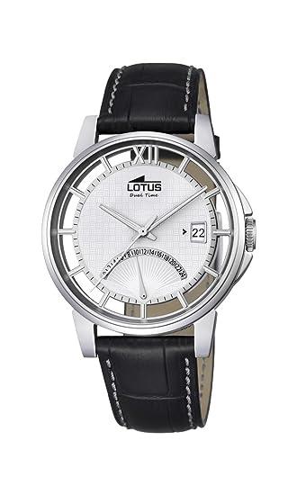 Lotus Reloj Hombre de Analogico con Correa en Cuero 18325/1