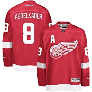 Reebok Justin Abdelkader Detroit Red Wings NHL Red Official Premier Home  Jersey for Men 9961ac74c