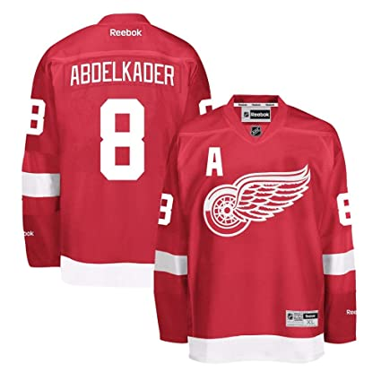 Reebok Justin Abdelkader Detroit Red Wings NHL Red Official Premier Home  Jersey for Men (4XL 1b6755f66
