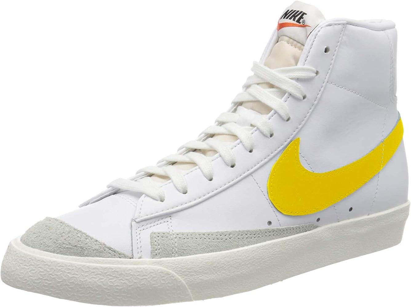 Blazer Mid '77 VNTG (White/Opti Yellow