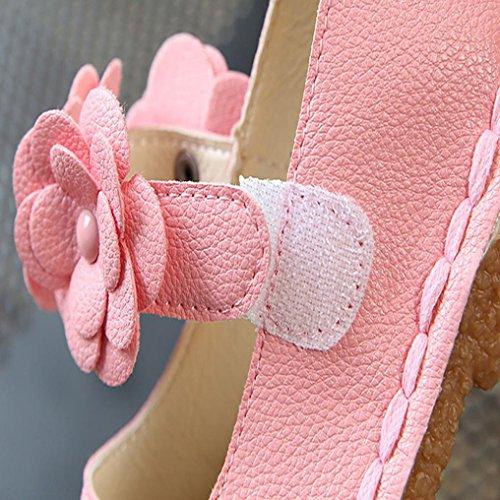 Clode® Casual Kinder Schuhe Mädchen Baby Girls Sneakers Kids Soft Single Schuhe Rosa