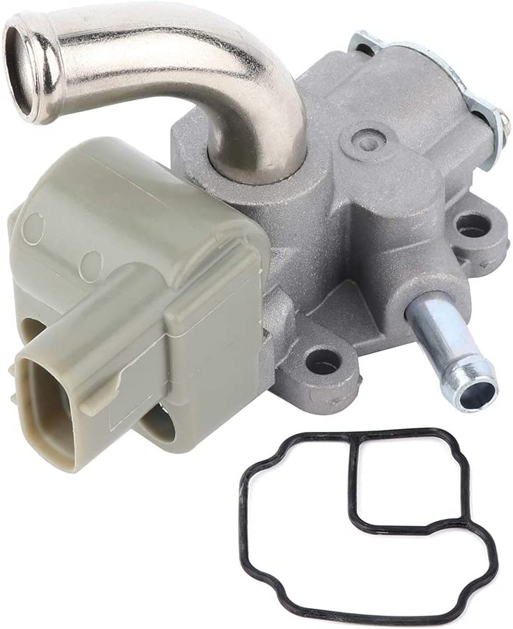 LSAILON 22270-75030 NEW Original Equipment Fuel Injection Idle Air Control Valve compatible with 1996-2000 Toyota 4Runner 1996-2000 Toyota Tacoma 1996-1998 Toyota T100