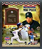 """Mike Piazza New York Mets MLB Hall of Fame Photo (Size: 12"""" x 15"""") Framed"""