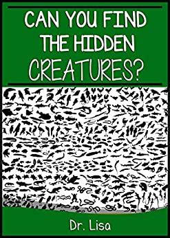 can you find the hidden creatures can you find books