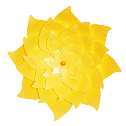 Oulii paper flower wall decoration backdrop self adhesive yellow oulii paper flower wall decoration backdrop self adhesive yellow 30cm mightylinksfo