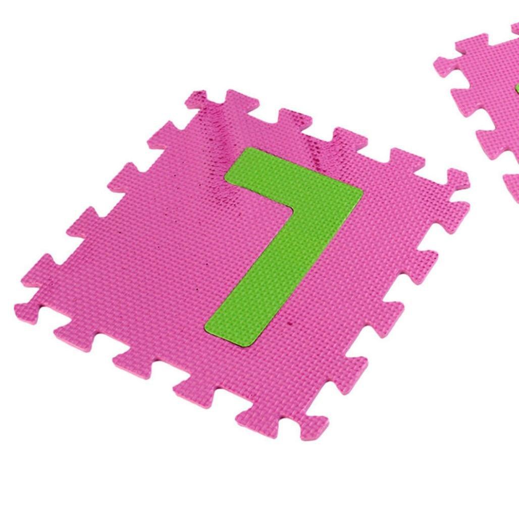 Botrong® 36pc Children's Kid's Soft EVA Foam Multicolors Alphabet Numbers Complete Set Play Matting Mats Jigsaw Puzzle Mats