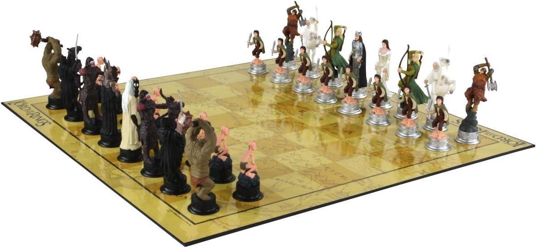 United Lables Señor de los Anillos Juego de ajedrez 3D Juego ...