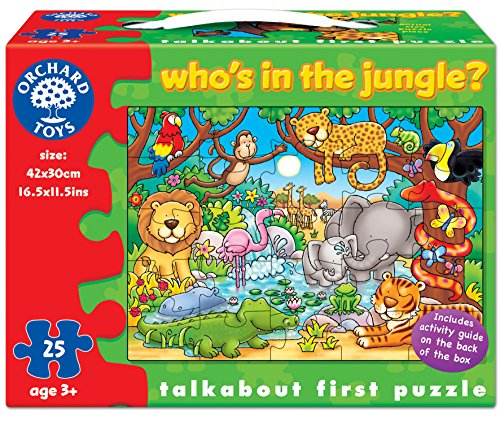 Who's In The Jungle 25 Piece Puzzle