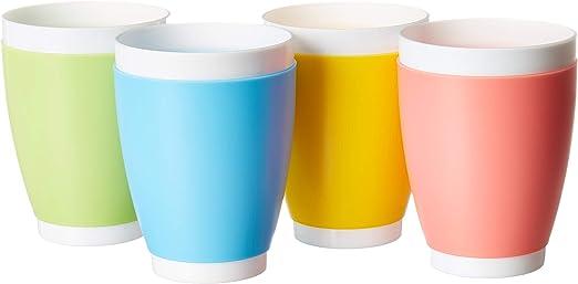 Potable vasos para niños para niños, pequeño irrompible vasos de ...