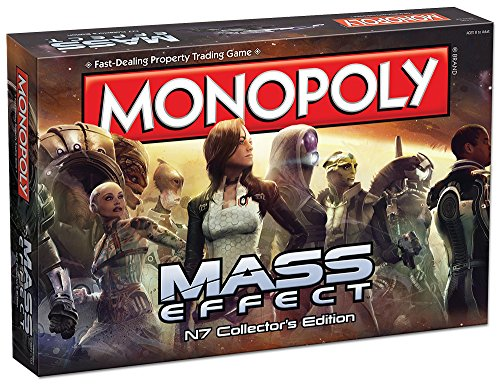 Monopoly: Mass Effect N7 Collector's Edition Board Game (Best Income Property Locations)