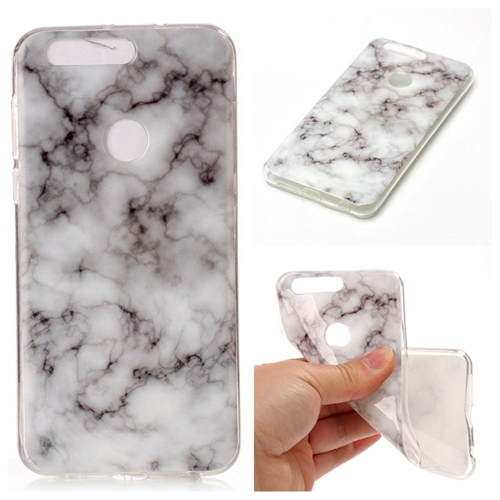 new products 3eece ff0c9 Amazon.com: honor 8 Smoke&White Marble Case,IVY [Marble] honor 8 TPU ...