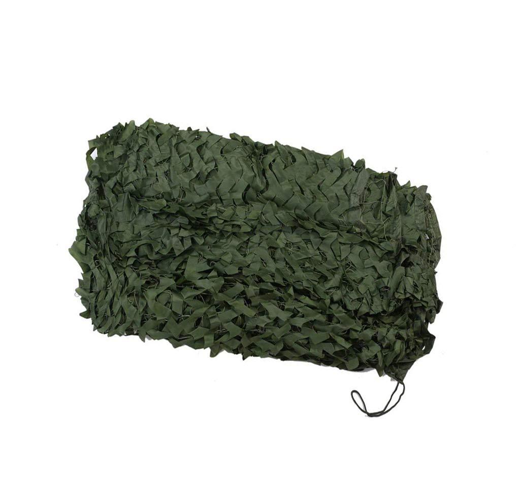 遮光ネット迷彩ネット 隠し森林迷彩テントパーティーハロウィーンの装飾影純粋な緑の迷彩ネット 屋外の日陰の庭に適しています (Size : 10m*10m)  10m*10m
