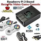 Raspberry Pi 3 1GB RetroPie Emulation Station with Kodi Media Center Loaded 16GB Micro SD Card